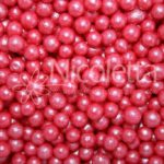 red soft pearls-